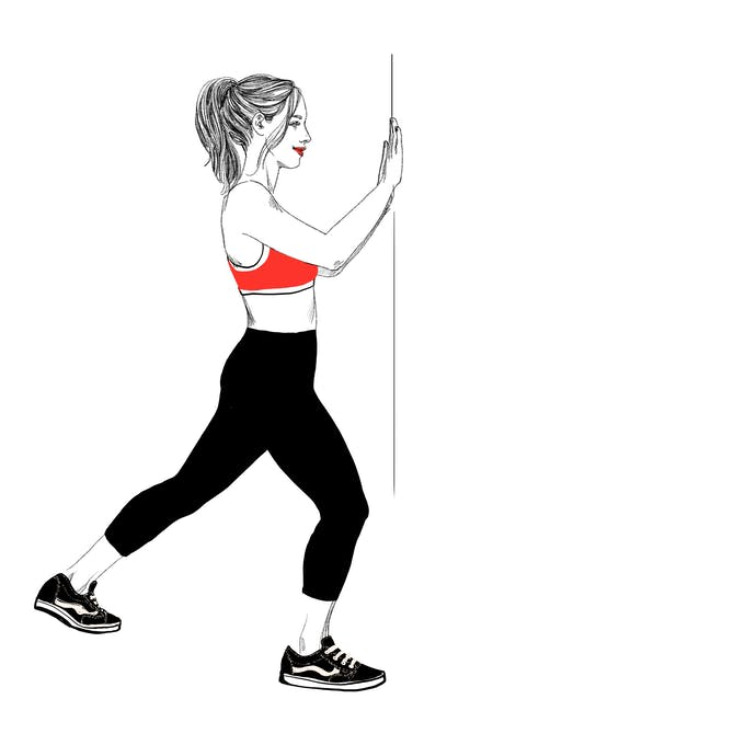 exercice étirement 1 tendinite du talon