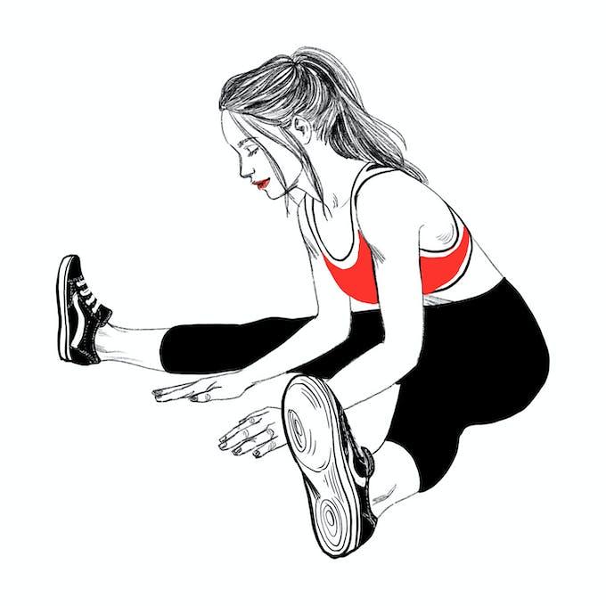 exercice étirment B tendinite du talon