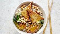 Riz au tofu et au bok choy