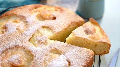 Gâteau aux pommes sans sucre ajouté