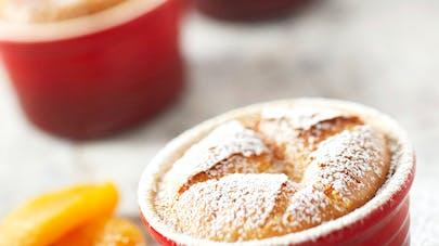 Petit moelleux aux abricots