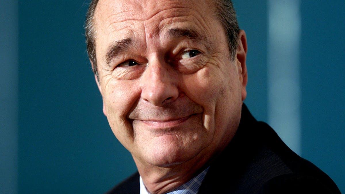 Cancer, handicap, sida: trois priorités pour Jacques Chirac