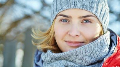 Peau sensible : protéger son visage du froid