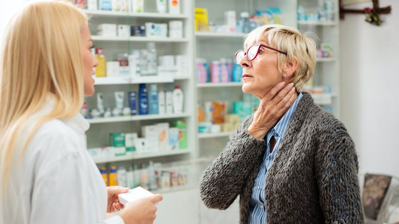 Maux de gorge et médicaments : attention aux risques allergiques, prévient l'ANSM