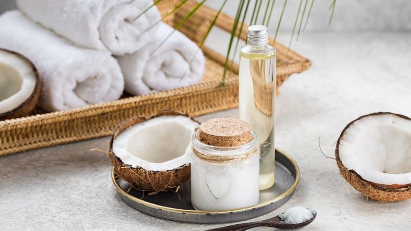Hydrater sa peau avec l'huile de coco