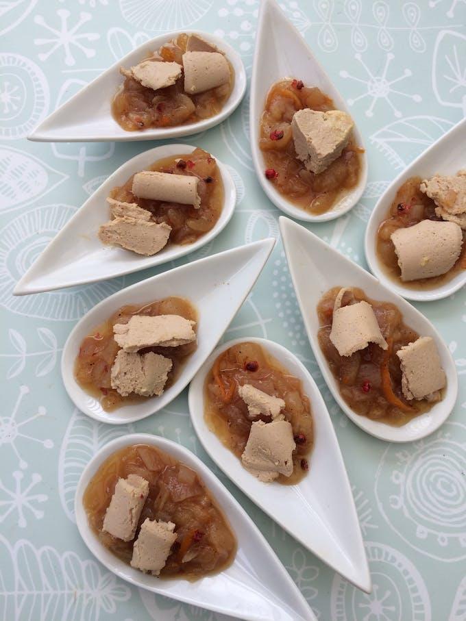 Foie gras chutney