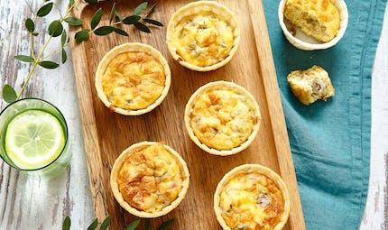 Muffins au thon et aux olives