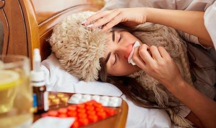 Pourquoi les rhumes sont moins fréquents chez les personnes grippées
