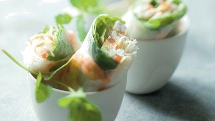 Rouleaux de printemps aux crevettes
