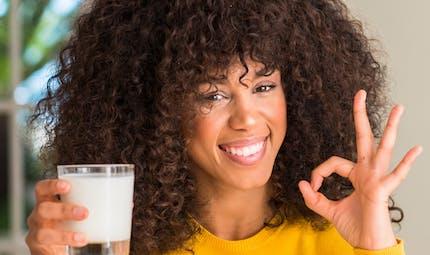 Moins de signes de vieillissement observés chez les personnes buvant du lait très écrémé