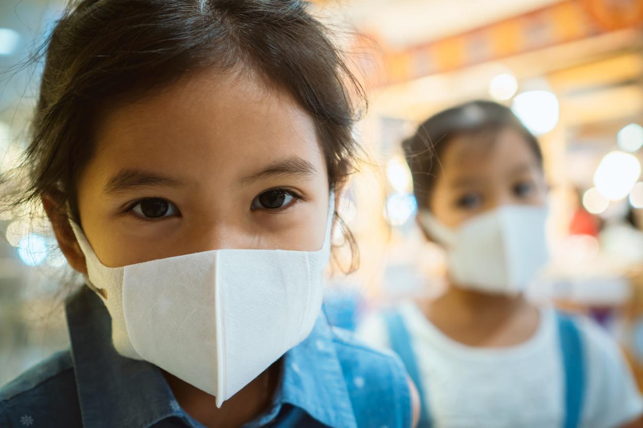 masque anti-virus enfant