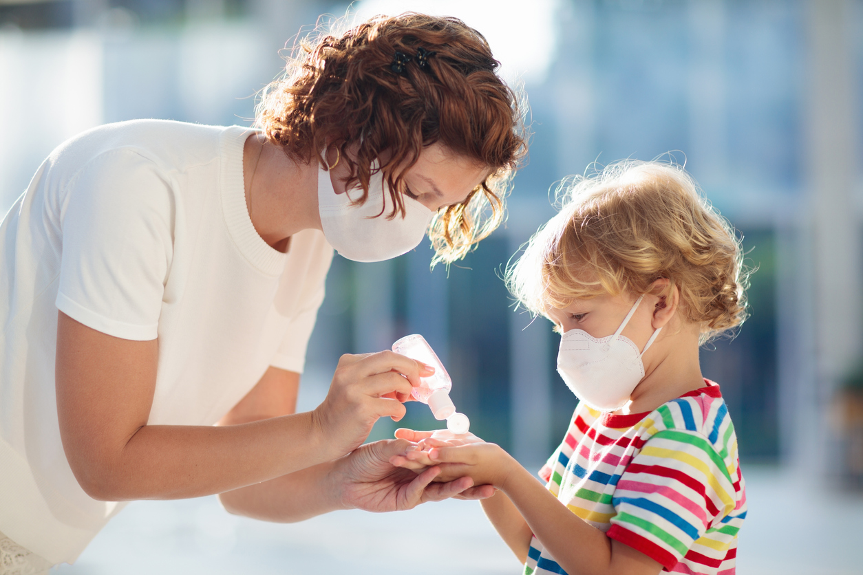 masque anti coronavirus enfant