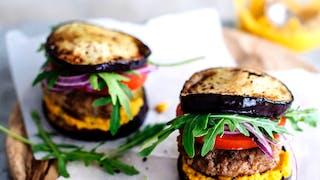 Burger d'aubergine