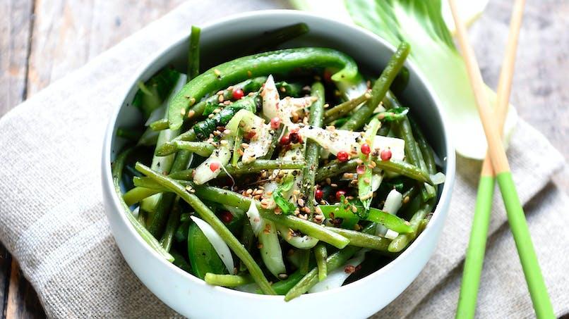 Sauté de légumes verts façon thaï
