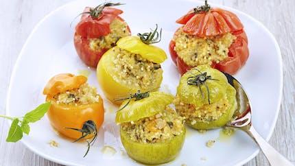 Tomates farcies au boulghour