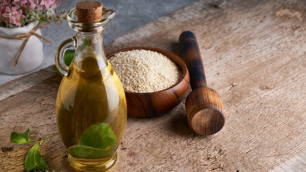 5 bienfaits de l'huile de sésame