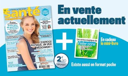 Le Santé magazine d'août 2020 est sorti !