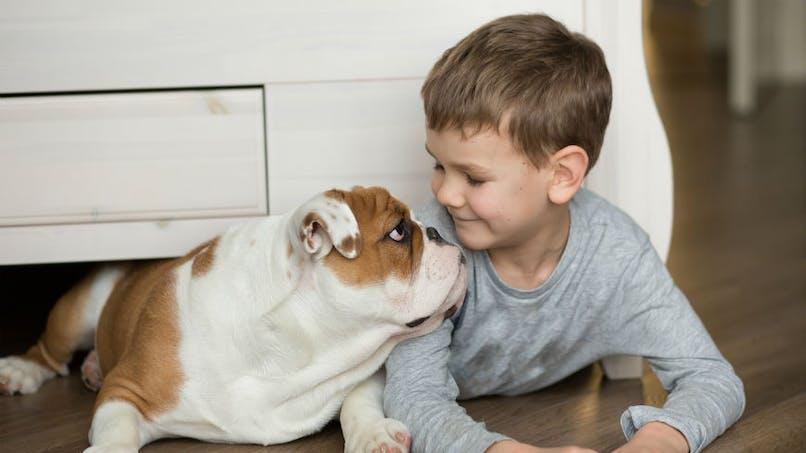 Les chiens de compagnie peuvent améliorer le développement socio-émotionnel des jeunes enfants