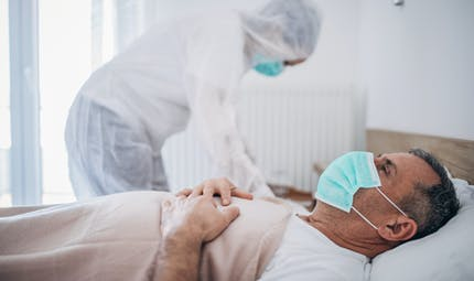 Une étude confirme le risque infectieux du Covid-19 dans l'air expiré