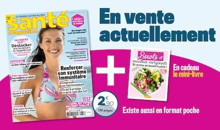 Le Santé magazine de septembre 2020 est sorti !