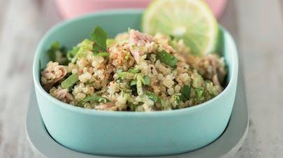 Taboulé de quinoa au thon
