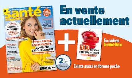 Le Santé magazine d'octobre 2020 est sorti !