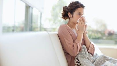 femme et grippe