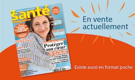Le Santé magazine de décembre 2020 est sorti !