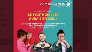 Téléthon 2020 : les dates dévoilées, un événement à réinventer du fait de la crise sanitaire