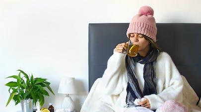femme et rhume
