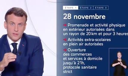 Déconfinement progressif : que retenir de l'allocution d'Emmanuel Macron ?