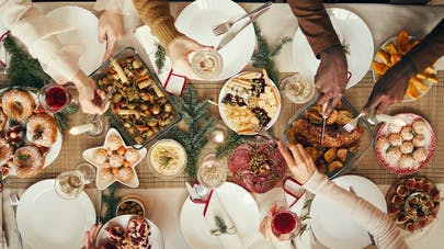 Repas de Noël healthy