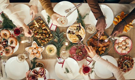 Nos astuces pour un repas de fêtes léger et gourmand