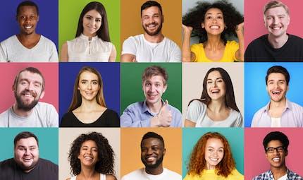 Mépris, colère, amusement… nous partageons 70 % de nos expressions faciales
