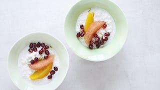 Riz au lait aux fruits d'hiver