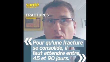 Fracture : en combien de temps l'os se consolide ? Réponse en vidéo