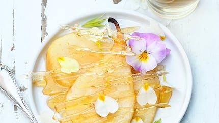 Poires caramélisées à la vanille