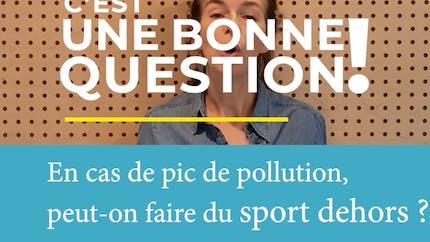 Peut-on faire du sport en cas de pic de pollution ?