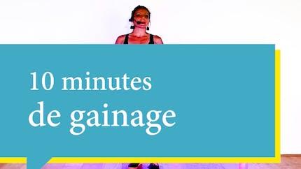 10 minutes de gainage avec Jeanne Alive 365