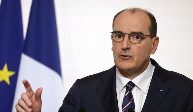 Jean Castex, lors de la conférence de presse du 7 janvier sur le Covid-19 en France
