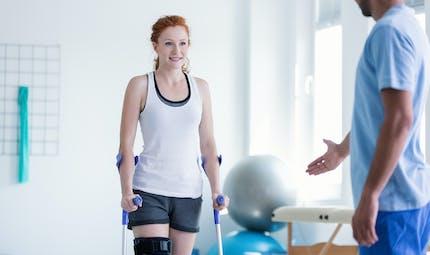 Comment soigner une fracture du genou ?