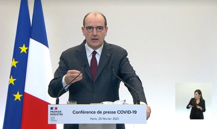 """Covid-19 : """"il faut tout faire pour retarder le confinement"""", insiste Jean Castex"""