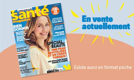 Le Santé magazine d'avril 2021 est sorti !