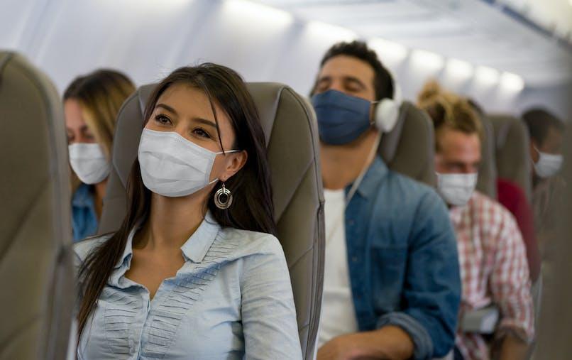 Avion & Covid-19 : laisser vide les sièges du milieu réduirait de 57% le risque de propagation