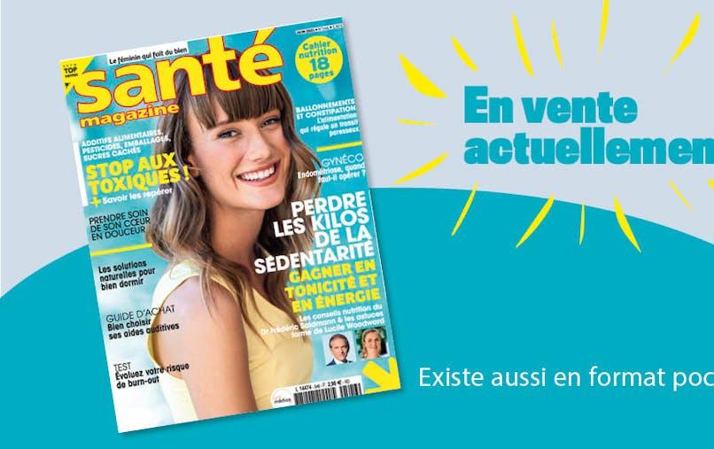 Le Santé magazine de juin 2021 est sorti !