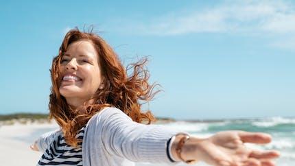 Le bien-être mental est meilleur en été