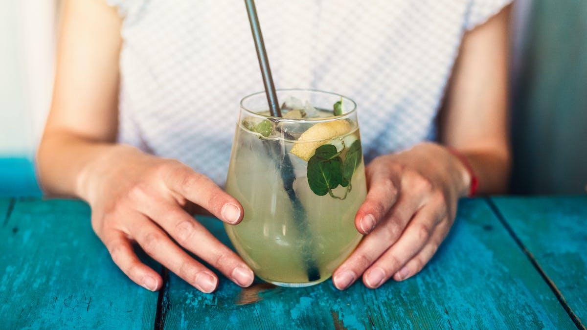 Une limonade fraîche pour se désaltérer en cas de canicule