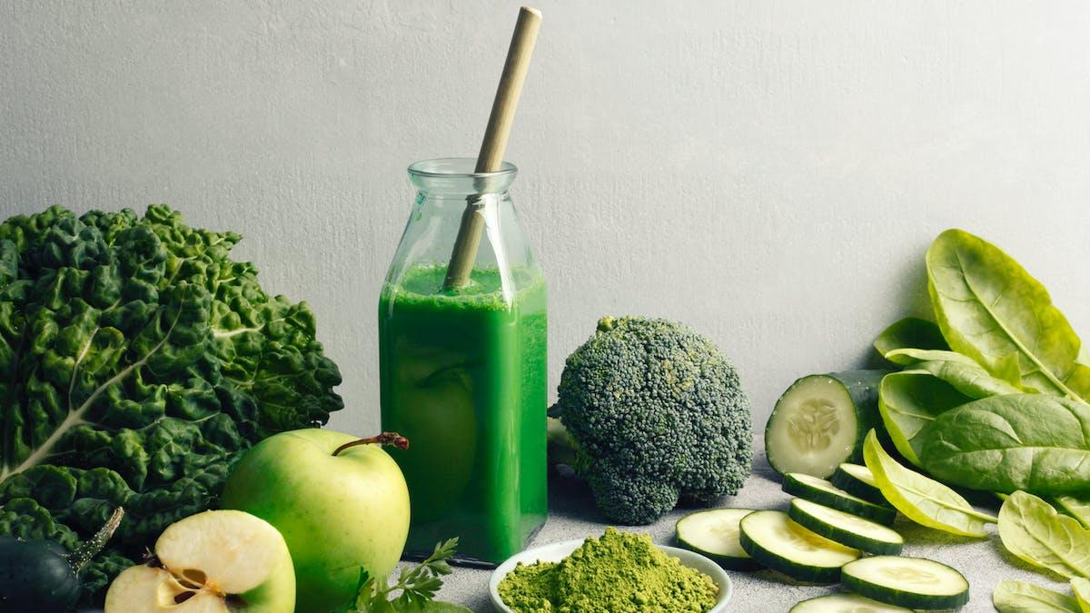 cure détox légumes verts
