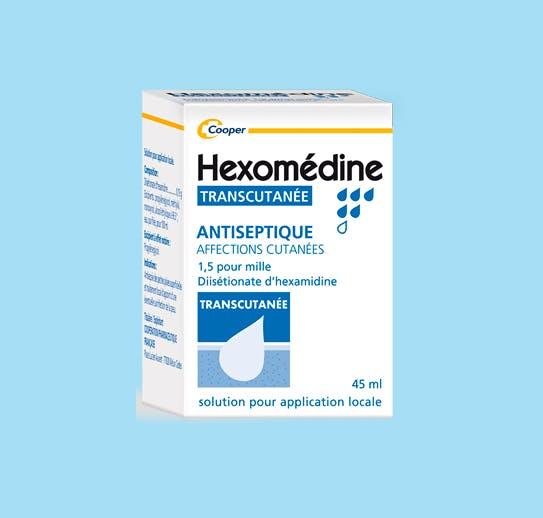Hexomédine Transcutanée