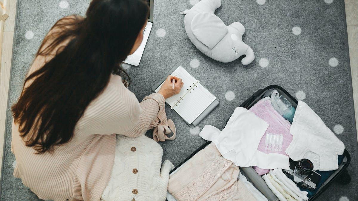 Liste des choses à mettre dans sa valise pour la maternité